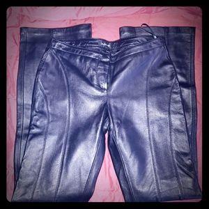 Black bebe pants